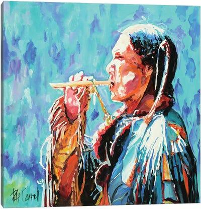 The Whistle Canvas Art Print