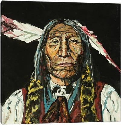 Windswift Eagle Canvas Art Print