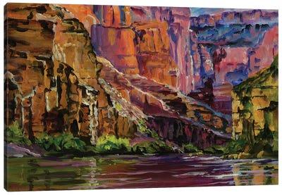 Canyon Colors Canvas Art Print
