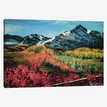 Colorado Autumn Canvas Print #PCL7} by Patricia Carroll Canvas Art