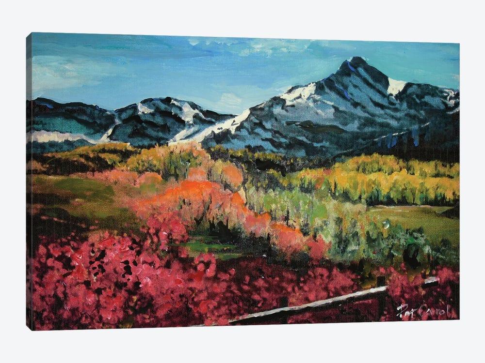 Colorado Autumn by Patricia Carroll 1-piece Canvas Artwork