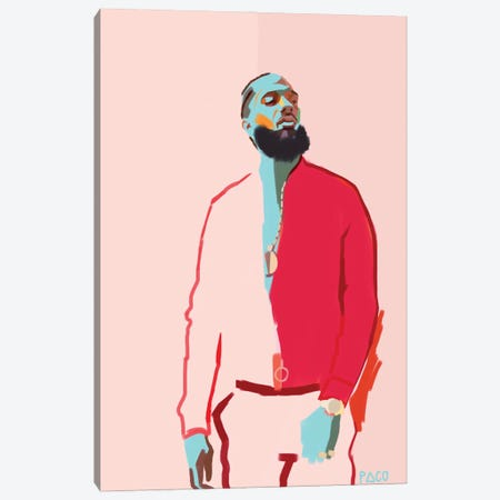 Nipsey Canvas Print #PCM14} by Paco May Canvas Art