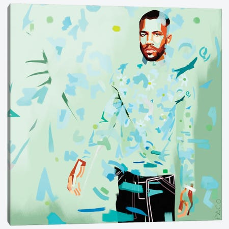 Frank Square Canvas Print #PCM31} by Paco May Canvas Print