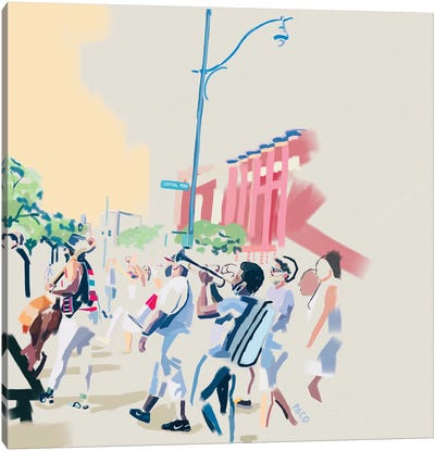 Juneteenth in Harlem Canvas Art Print