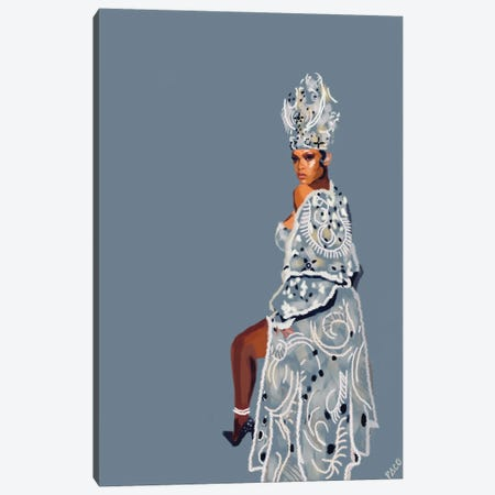 Pope Riri Vertical Canvas Print #PCM44} by Paco May Canvas Print