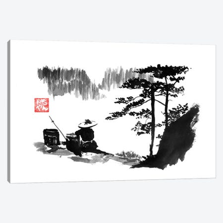 Mountain Canvas Print #PCN109} by Péchane Canvas Art