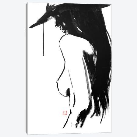 Nude's Hat Canvas Print #PCN113} by Péchane Canvas Print