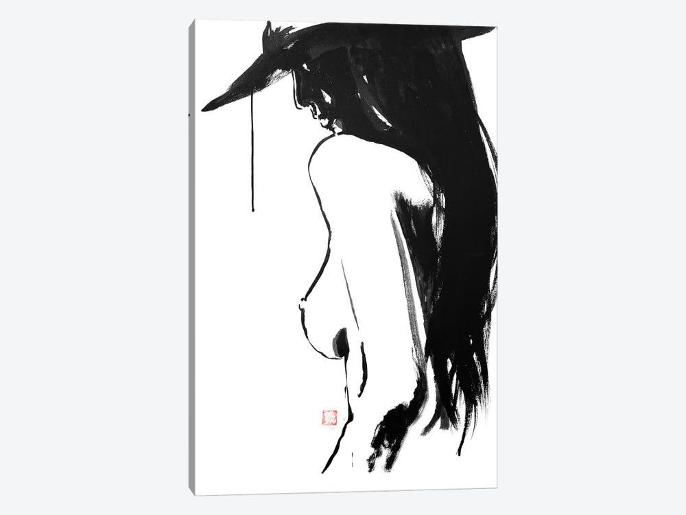 Nude's Hat by Péchane 1-piece Canvas Art Print