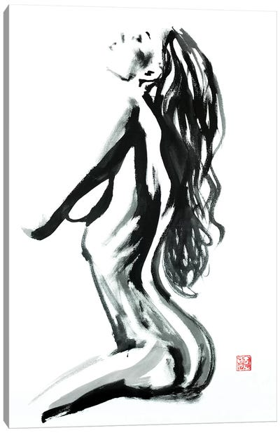 Profile Canvas Art Print