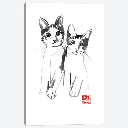 Brothers Canvas Print #PCN16} by Péchane Canvas Print