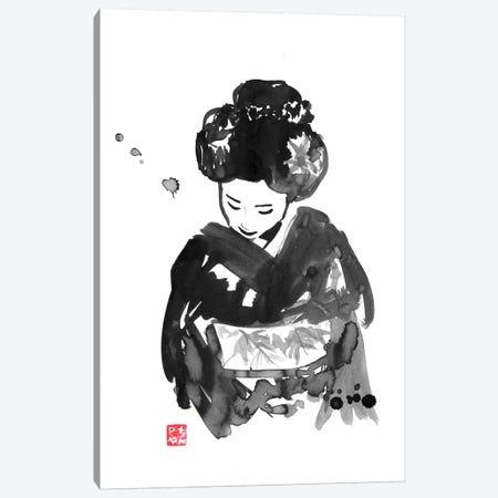Take A Bow Canvas Print #PCN170} by Péchane Art Print