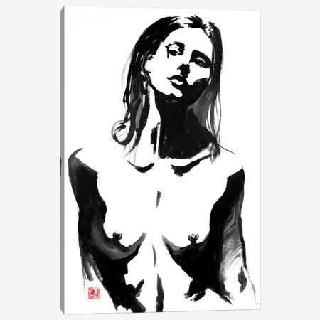 Teardrop Canvas Print #PCN173} by Péchane Art Print