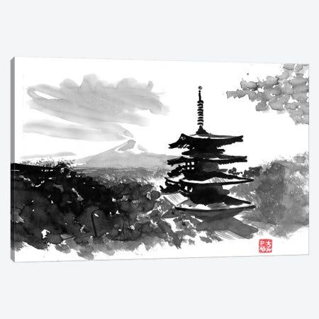 Temple 3-Piece Canvas #PCN174} by Péchane Canvas Wall Art