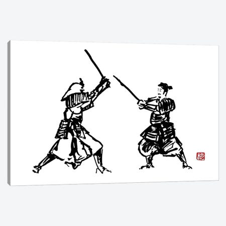 The Honor Of The Samurai I Canvas Print #PCN177} by Péchane Canvas Wall Art