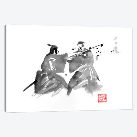 The Last Fight Canvas Print #PCN180} by Péchane Canvas Art