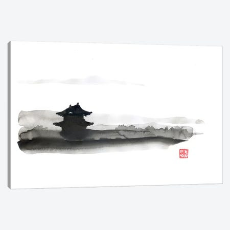 The Little Temple Canvas Print #PCN182} by Péchane Canvas Art