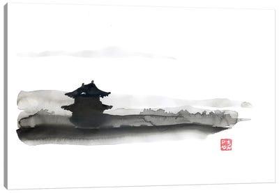 The Little Temple Canvas Art Print