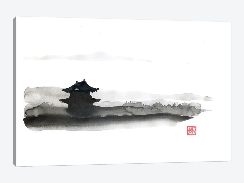 The Little Temple by Péchane 1-piece Canvas Art Print