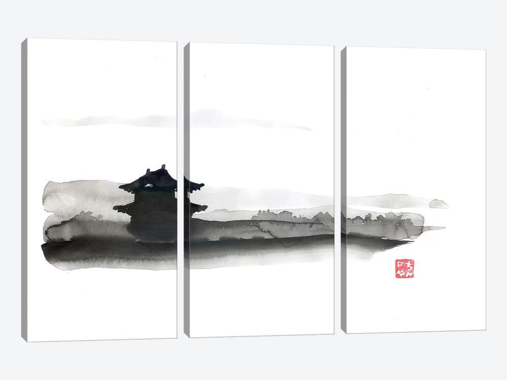 The Little Temple by Péchane 3-piece Art Print
