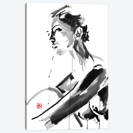 Thinking Canvas Print #PCN184} by Péchane Canvas Print