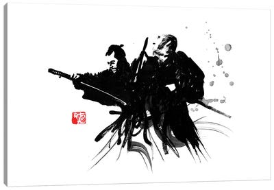 Toshiro Canvas Art Print