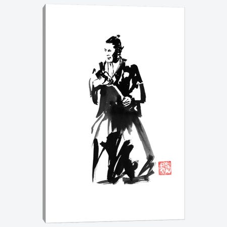 Yojimbo Canvas Print #PCN199} by Péchane Art Print