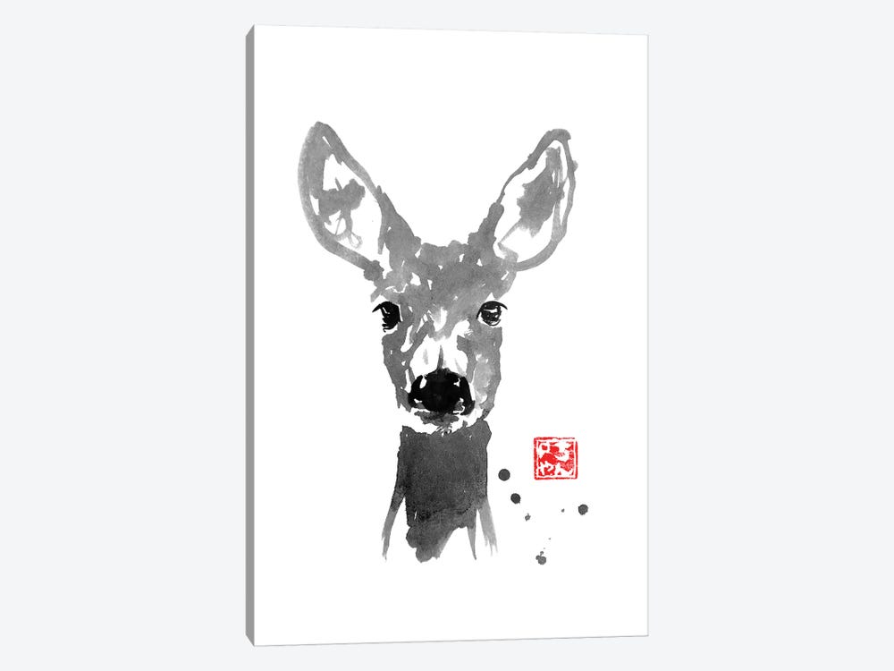 Young Deer 1-piece Canvas Art Print