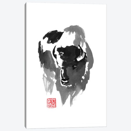Buffle Canvas Print #PCN206} by Péchane Canvas Art