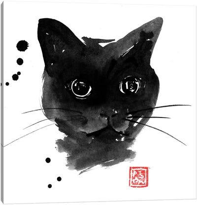 Chat Noir Canvas Art Print