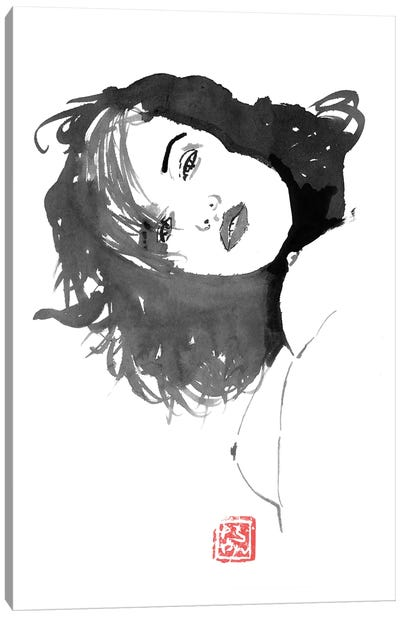 Looking Down Canvas Art Print