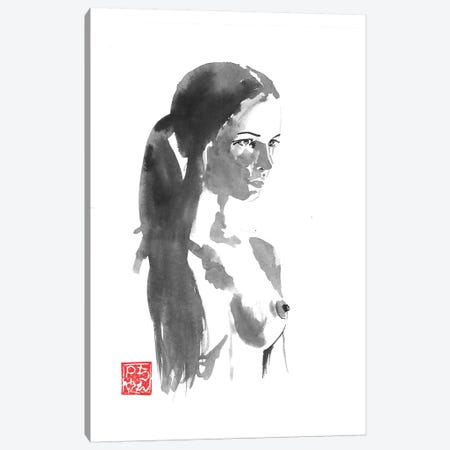 Outside Nude Canvas Print #PCN235} by Péchane Canvas Print