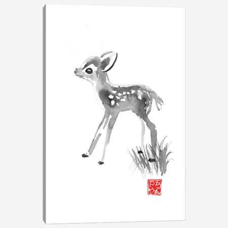 Small Deer Canvas Print #PCN243} by Péchane Art Print