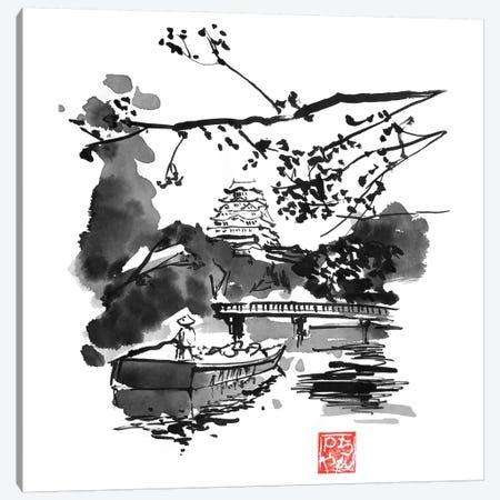 Bridge 3-Piece Canvas #PCN257} by Péchane Canvas Art Print