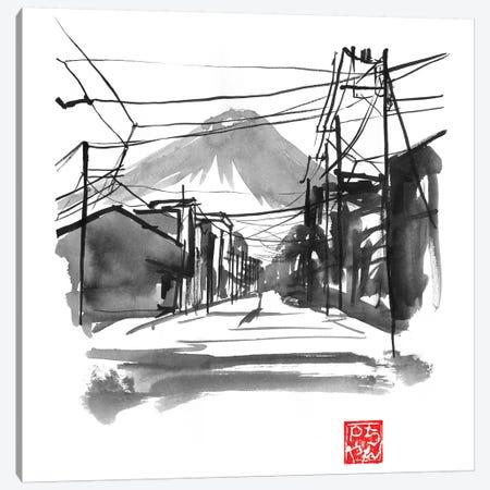 Fujiyoshida I 3-Piece Canvas #PCN260} by Péchane Canvas Print