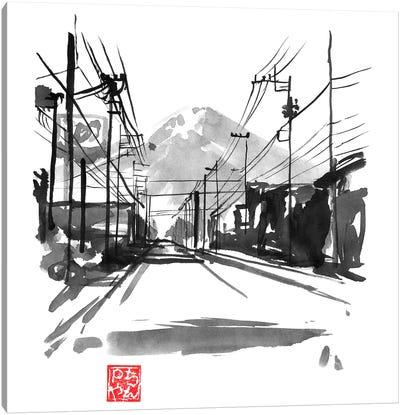 Fujiyoshida II Canvas Art Print
