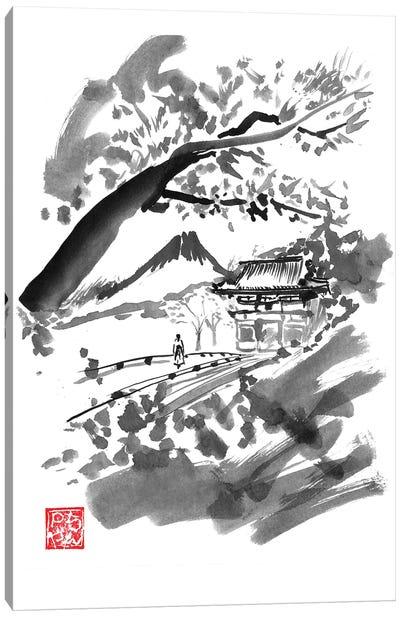 Temple Canvas Art Print