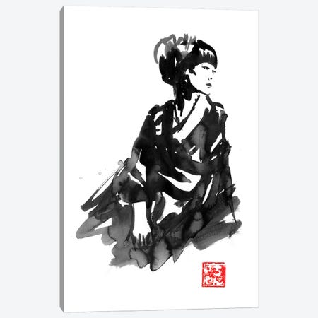 Geisha II Canvas Print #PCN267} by Péchane Canvas Art