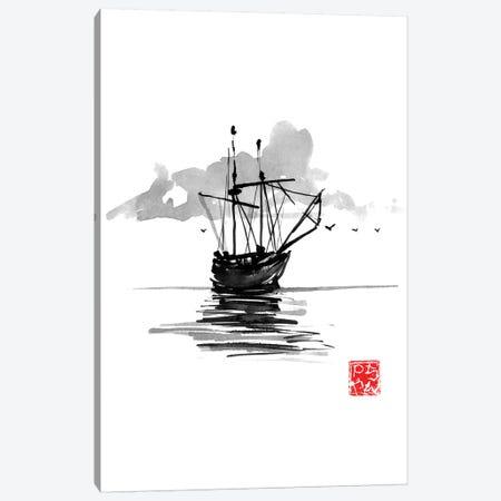 Boat Canvas Print #PCN279} by Péchane Canvas Art