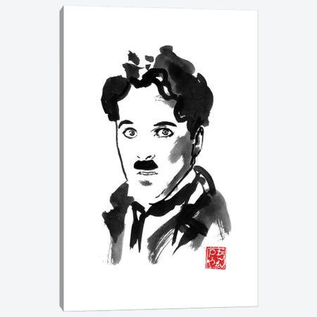 Charlie Chaplin Canvas Print #PCN294} by Péchane Canvas Art Print