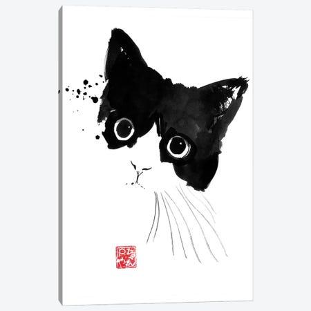 Impish Cat Canvas Print #PCN300} by Péchane Canvas Artwork
