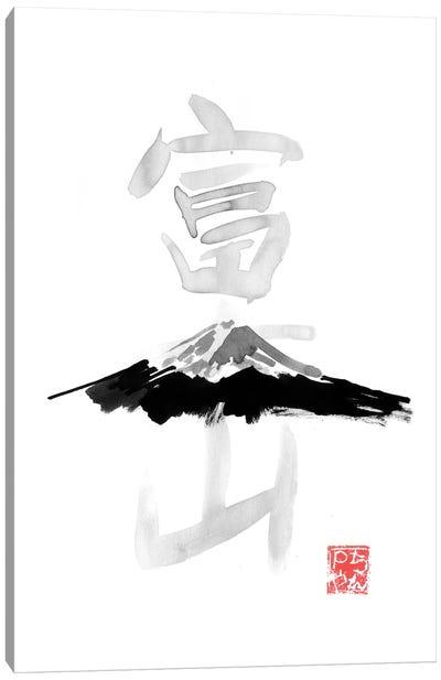 Fuji San Canvas Art Print