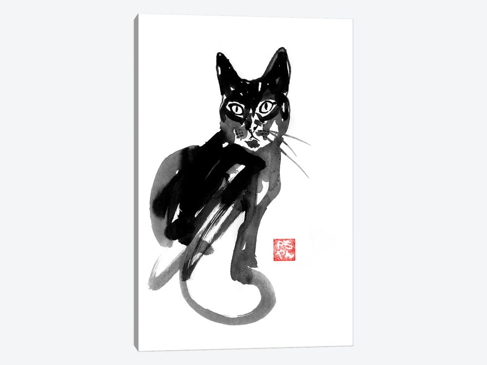Chinese Cat by Péchane 1-piece Art Print