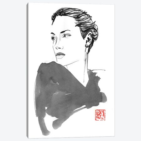 Angelina Canvas Print #PCN321} by Péchane Canvas Wall Art