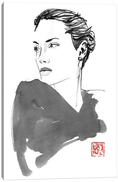 Angelina Canvas Art Print