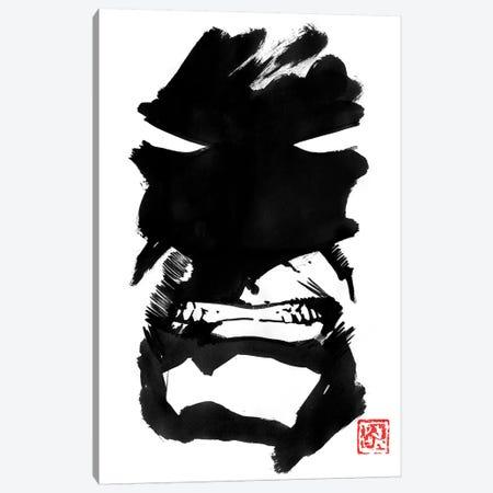 Batman Pas Content Canvas Print #PCN324} by Péchane Canvas Art Print