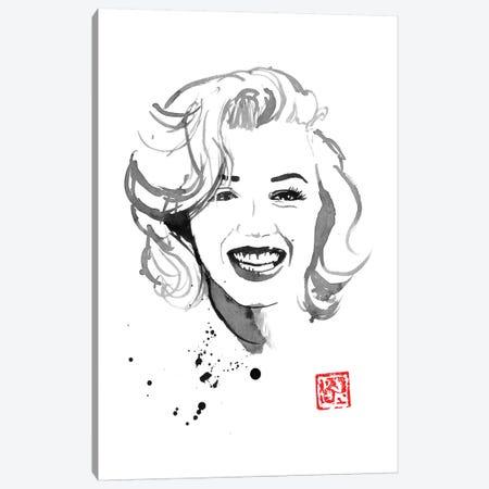 Marylin Monroe IV Canvas Print #PCN336} by Péchane Canvas Wall Art