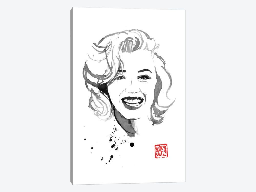 Marylin Monroe IV by Péchane 1-piece Canvas Print