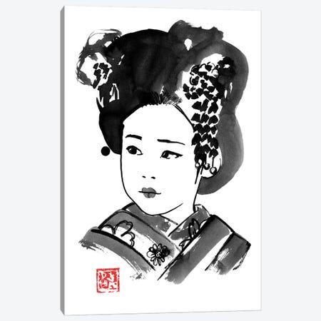 Petite Japonaise Canvas Print #PCN338} by Péchane Canvas Art Print
