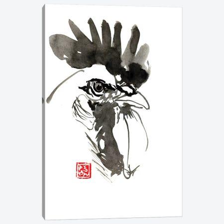 Coq Canvas Print #PCN33} by Péchane Canvas Artwork
