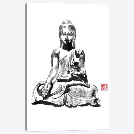 Buddha Canvas Print #PCN352} by Péchane Canvas Print